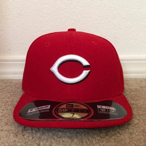 f44ea8ed0768c5 New Era Accessories   Cincinnati Reds Fitted Hat   Poshmark